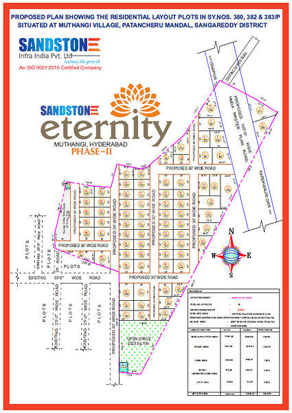 Sandstone Eternity Phase II - Master Plans