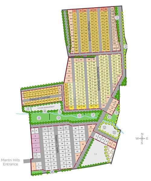 QVC Mantri Hills - Master Plans
