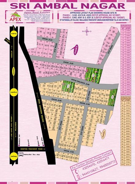Sri Ambal Nagar - Master Plans